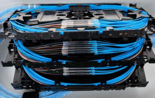 Splicing rack